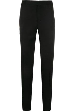 Saint Laurent Pantalon de costume à rayures latérales