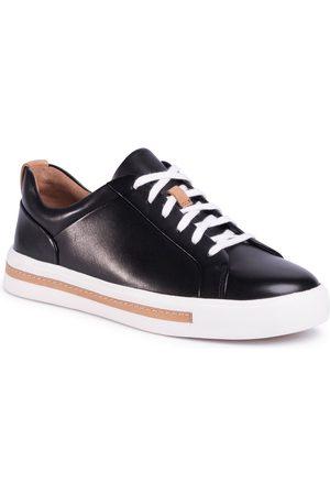 Clarks Femme Baskets - Sneakers - Un Maui Lace 261416424 Black Leather