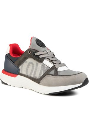 Colmar Sneakers - Supreme X-1 Kick 045 Lt Gray/Navy/Red
