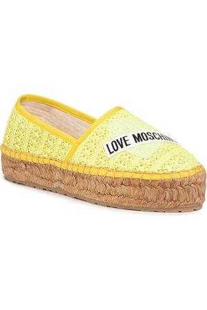 Love Moschino Espadrilles - JA10413G0AJQ0400 Giallo
