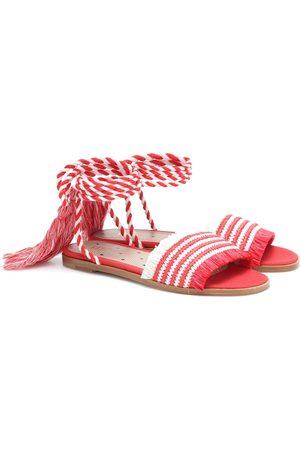 RED (V) – Sandales en raphia