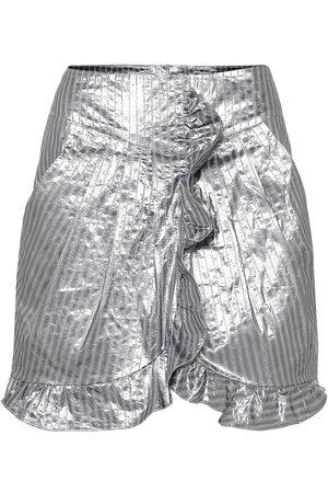 Isabel Marant Exclusivité Mytheresa – Mini-jupe Mucius rayée en lamé