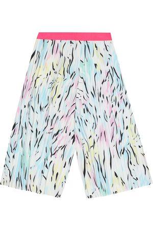 Kenzo Pantalon ample plissé imprimé