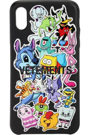 "VETEMENTS Coque Pour Iphone Xs Max ""monster Stickers"""