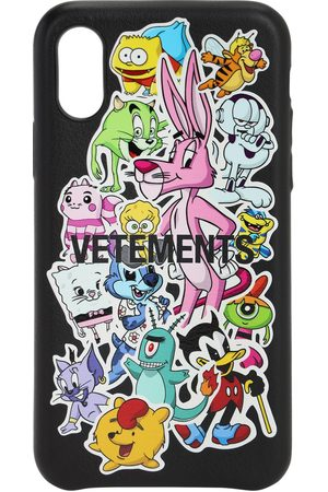 "VETEMENTS Coque I Phone Xs ""monster Stickers"""