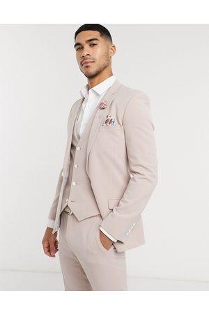 ASOS Wedding - Veste de costume super ajustée en tissu stretch multiposition
