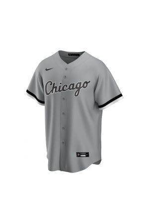 Nike Homme Vêtements de sport - Maillot de Baseball MLB Chicago White Sox Replica Road pour Homme