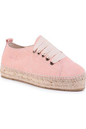 MANEBI Femme Espadrilles - Espadrilles - Sneakers D W 1.4 E0 Pastel