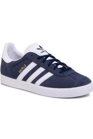 adidas Chaussures adidas - Gazelle J BY9144 Conavy/Ftwwht/Ftwwht
