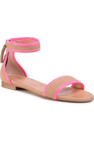 Twin-Set Sandales - Sandalo 201TCP014 Bic.Desert/Fuxi 04826