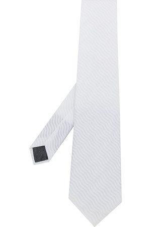 Gianfranco Ferré Pre-Owned Cravate texturée à motif géométrique