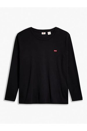 Levi's Baby Tee Long Sleeve (Plus Size) / Caviar