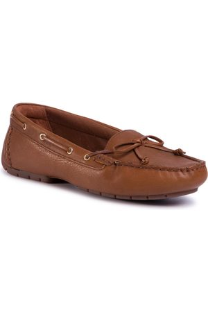 Clarks Mocassins - C Mocc Boat 261492724 Tan Leather