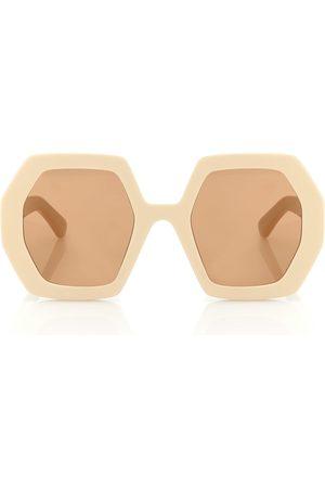 Gucci Lunettes de soleil hexagonales