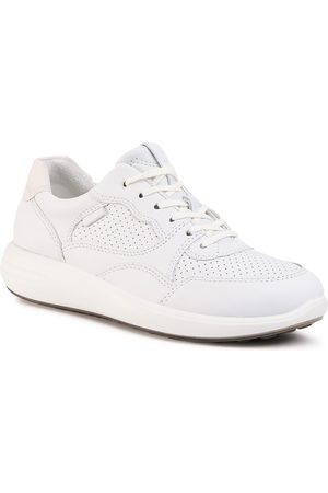 Ecco Sneakers - Soft 7 Runner W 46061352292 White/Shadow White