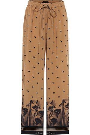 UNDERCOVER Pantalon ample imprimé