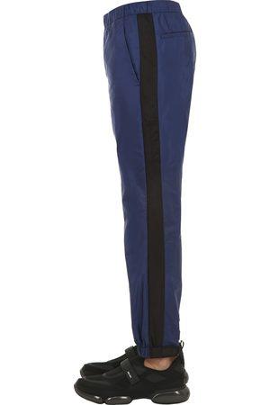 Prada Pantalon En Nylon Léger Réglable Aux Jambes 18 Cm