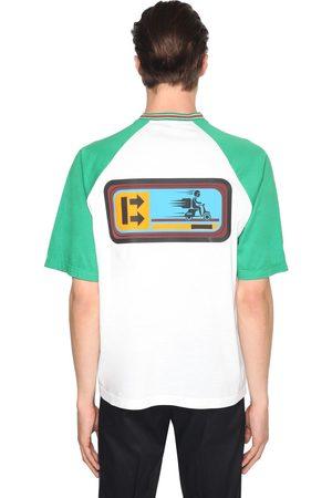 """Prada T-shirt En Jersey De Coton Imprimé """"delivery Boy"""""""