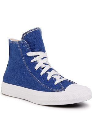 Converse Sneakers - Ctas Hi 166741C Rush Blue/Natural/White