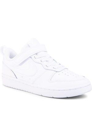 Nike Chaussures - Court Borough Low 2 (Psv) BQ5451 100 White/White/White
