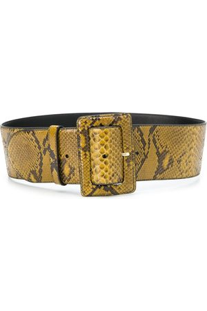 Prada Snakeskin-effect buckled belt