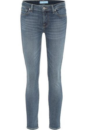 7 for all Mankind Jean The Skinny à taille mi-haute