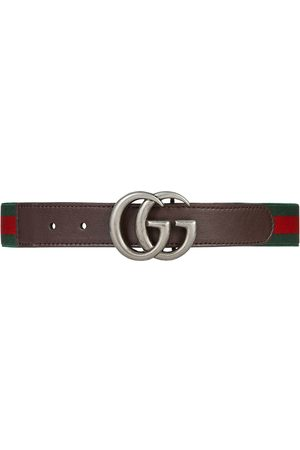 Gucci Kids Elasticated GG Web belt