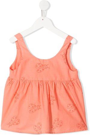 KNOT Ladybird-print vest