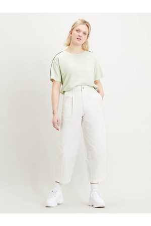 Levi's Femme Pantalons - Utility Pleated Balloon Trousers Neutral / Tofu