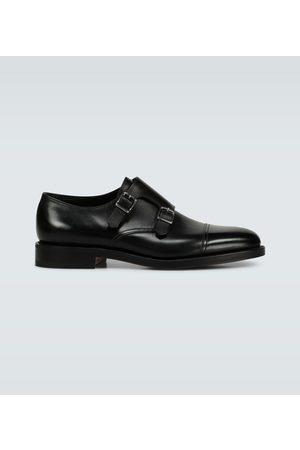 JOHN LOBB Chaussures en cuir William en double boucle