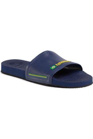 Havaianas Mules / sandales de bain - Slide Brasil Fc 41426160555 Navy Blue