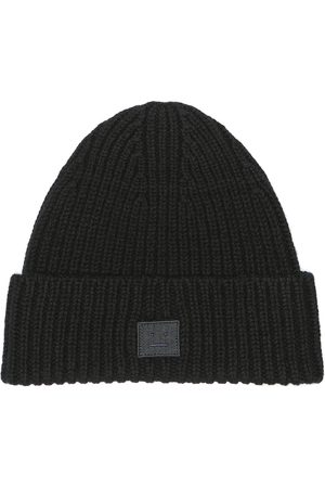 Acne Studios Fille Bonnets - Bonnet Mini Face en laine