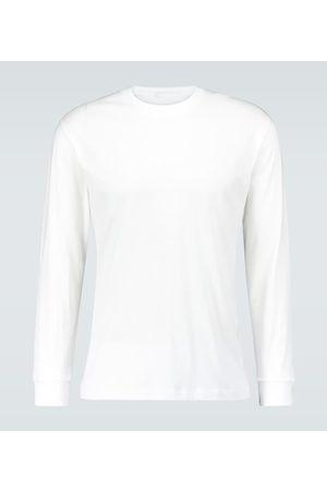 WARDROBE.NYC T-shirt à manches longues en coton