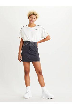 Levi's High Waisted Deconstructed Skirt / Regular Programming