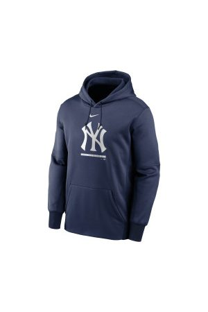 Nike Sweat à capuche MLB New York Yankees Therma Fleece marine pour Junior