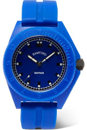 Bamford Watch Department Homme Montres - Mayfair Sport Polymer And Rubber Watch
