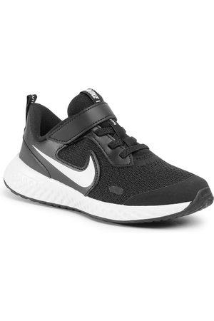 Nike Garçon Chaussures basses - Chaussures - Revolution 5 (PSV) BQ5672 003 Black/White/Anthracite