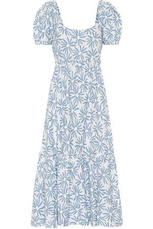 Polo Ralph Lauren Exclusivité Mytheresa – Robe midi Kai en lin à fleurs