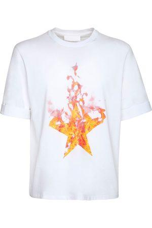 Neil Barrett T-shirt En Jersey De Coton Imprimé Étoile