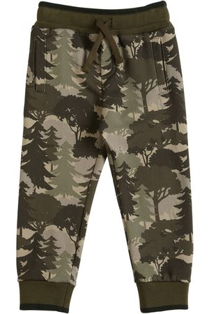 Dolce & Gabbana Pantalon De Jogging En Coton Imprimé