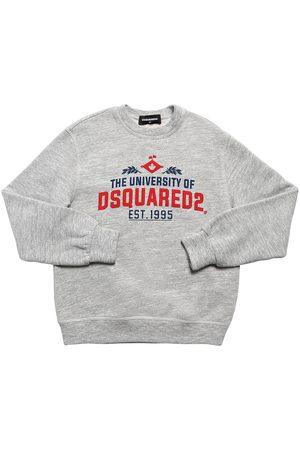 """Dsquared2 Sweat-shirt En Coton Imprimé """"university"""""""