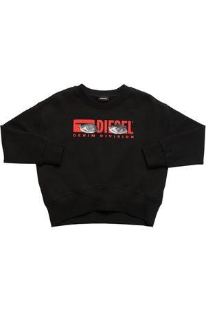 Diesel Sweat-shirt En Coton Imprimé Logo