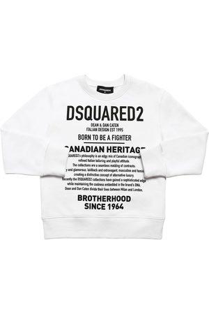 """Dsquared2 Sweat-shirt En Coton Imprimé """"heritage"""""""