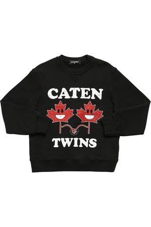 """Dsquared2 Sweat-shirt En Coton Imprimé """"twins"""""""