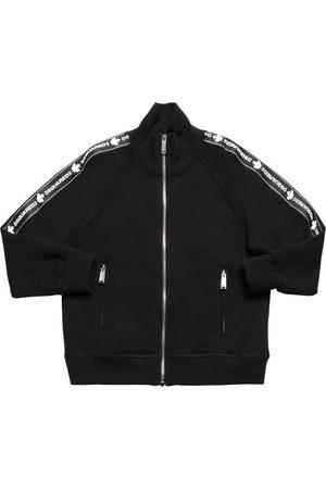 Dsquared2 Gilets - Sweat-shirt En Coton Avec Zip