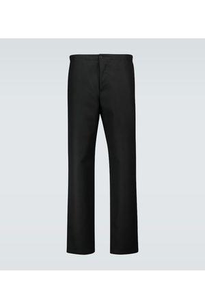 WARDROBE.NYC Pantalon en laine à élastique