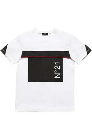 Nº21 T-shirt En Jersey De Coton Et Nylon