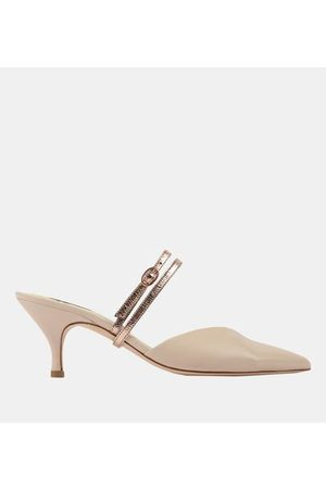 Repetto Mules Nawel cuir
