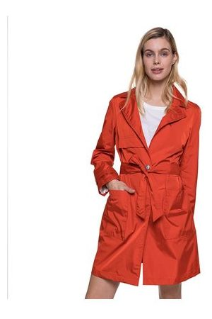 Trench and coat Trench poids plume en tissu enduit