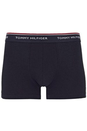 Tommy Hilfiger Lot de 3 shortys unis à ceinture logotypée